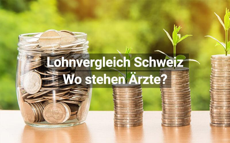 Lohnvergleich Schweiz: Wo stehen Ärzte?
