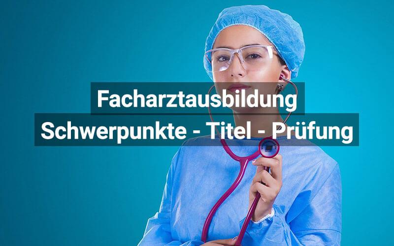 Facharztausbildung Schweiz