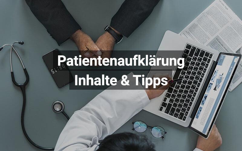 Patientenaufklärung Schweiz