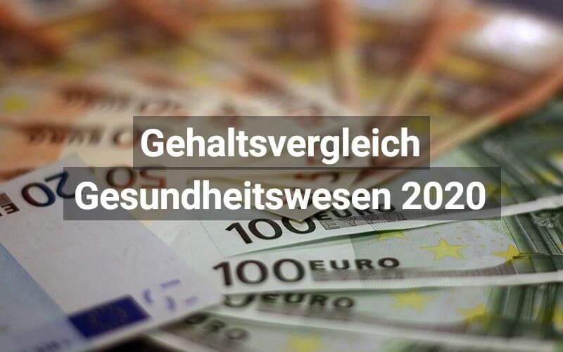 Gehaltsvergleich Gesundheitswesen Schweiz 2020
