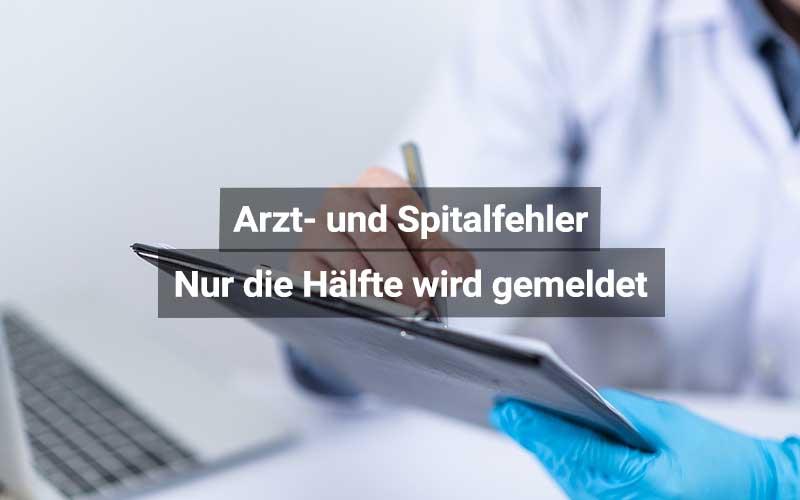 Arzt Und Spitalfehler Meldepflicht