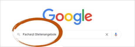 Google Suche PraktischArzt