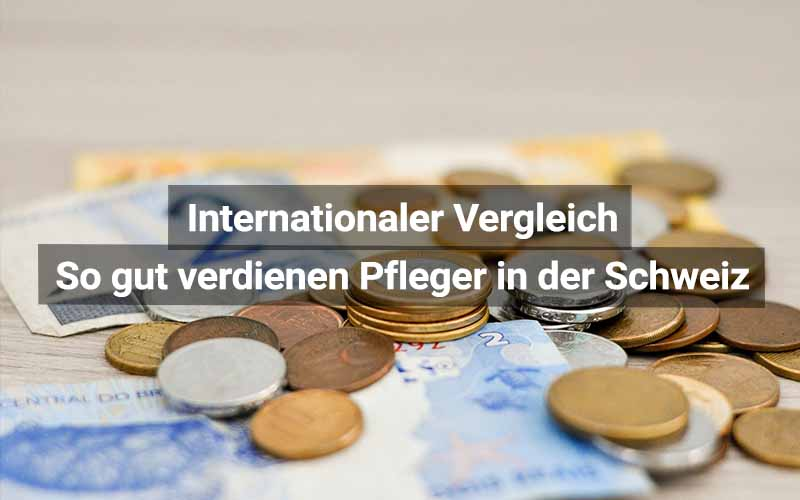 Pflege Schweiz Verdienst
