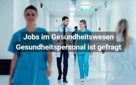 Schweiz Gesundheitspersonal Ist Gefragt