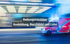 Rettungssanitäter Schweiz