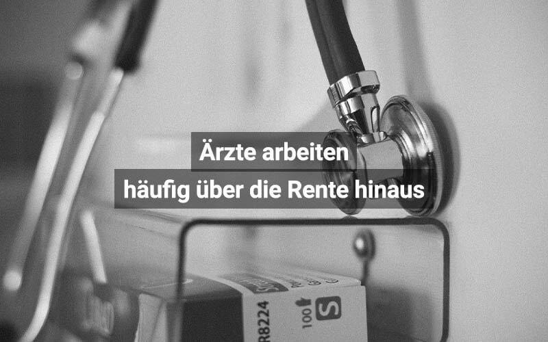 Schweizer Ärzte Arbeiten über Die Rente Hinaus