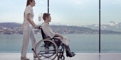 See Spital Besucher