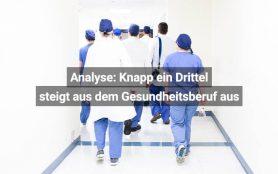 Ausstieg Aus Gesundheitsberuf Schweiz