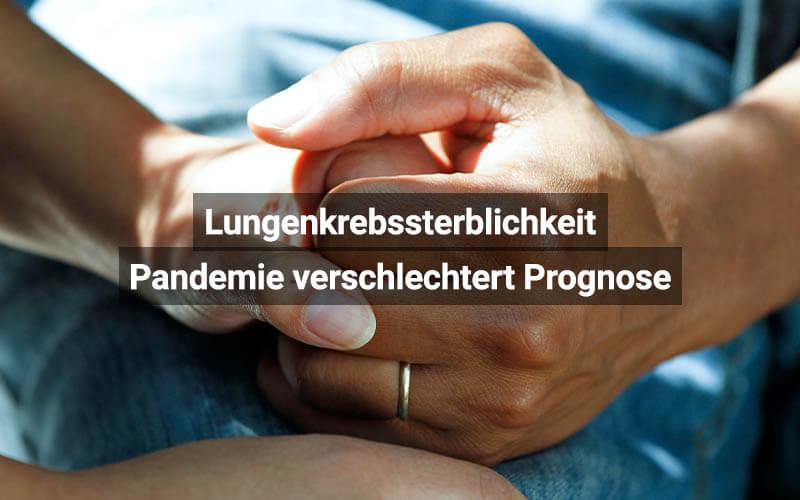 Lungenkrebssterblichekeit Pandemie Schweiz