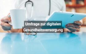 FMH Umfrage Zur Digitalen Gesundheitsversorgung