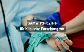 SAMW Stellt Ziele Für Klinische Forschung In Der Schweiz Vor