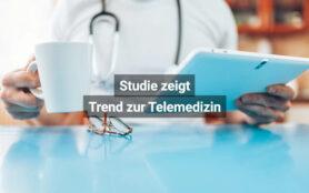 Studie Zeigt Trend Zur Telemedizin